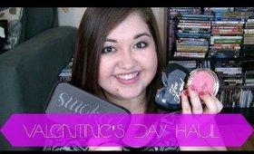 Valentine's Day Makeup Haul!