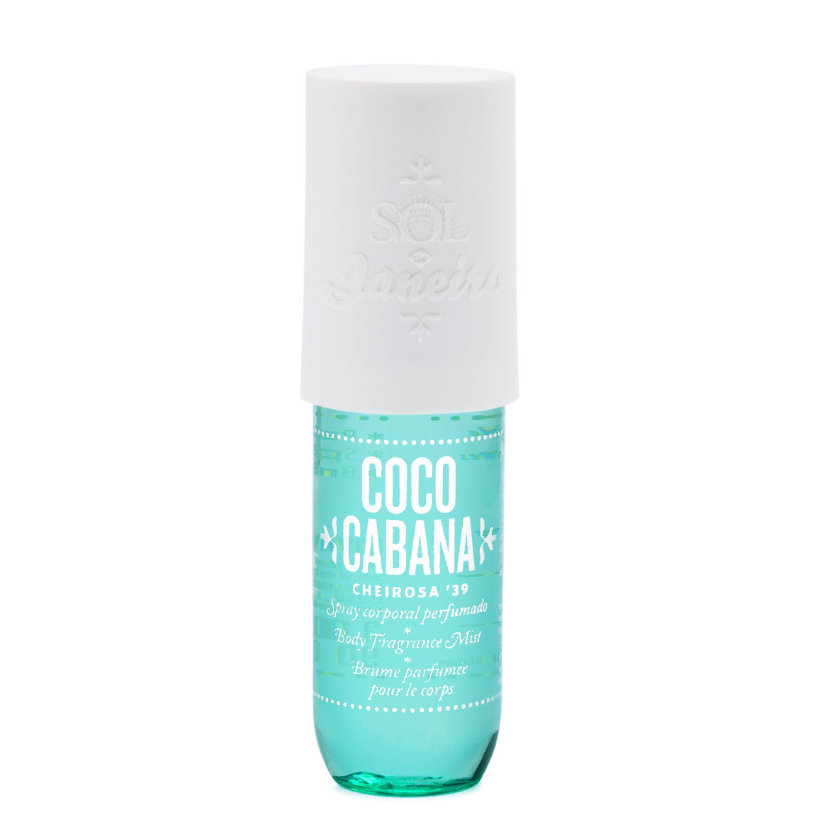 Sol de Janeiro Coco Cabana Fragrance Body Mist product swatch.