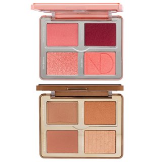Natasha Denona Bloom Blush & Glow Palette + Tan Bronze & Glow Palette Bundle