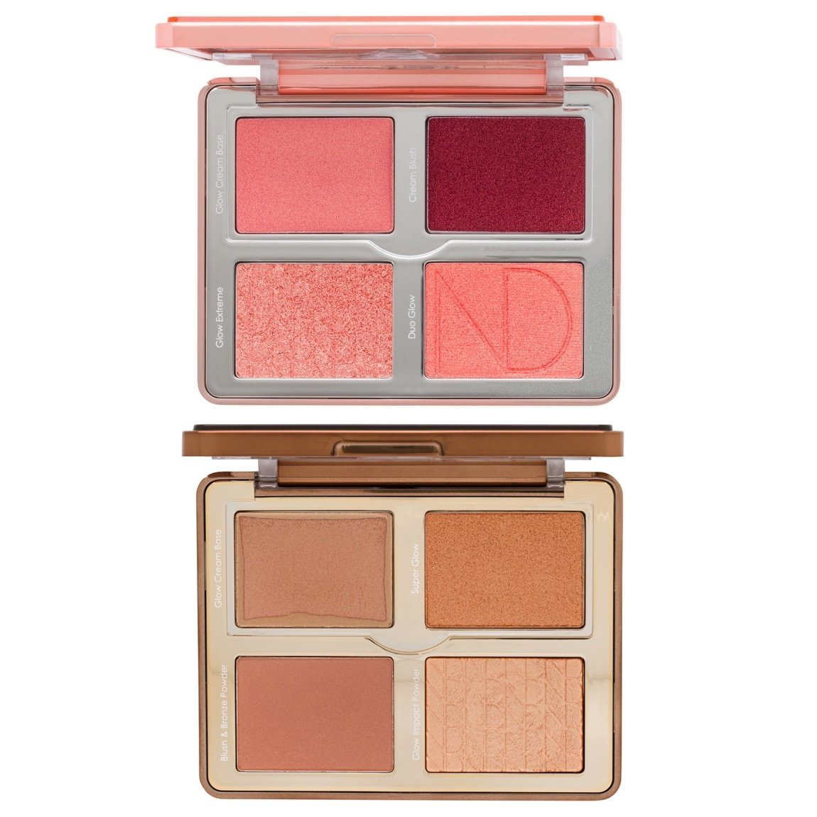 Natasha Denona Bloom Blush & Glow Palette + Tan Bronze & Glow Palette Bundle product swatch.