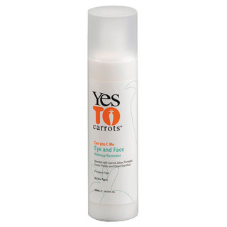 Yes to Carrots Eye and Face Makeup Remover