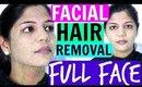 Full Face Facial HAIR REMOVAL   SuperPrincessjo