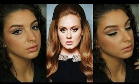 Adele Inspired Makeup Tutorial ♥