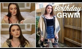 GRWM    Birthday + NYE Party 2018   Outfit, Hair, & Makeup