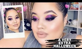 Oh Hallow's Month: A Very Extra Halloween Glam Ft. New Anastasia Beverly Hills Makeup
