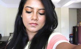 AUTUMN INSPIRED MAKEUP| INDIAN BEAUTY GURU | SEEBA86