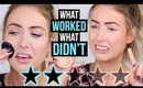 WORST RATED Makeup TESTED: SEPHORA Edition! || 5 First Impressions