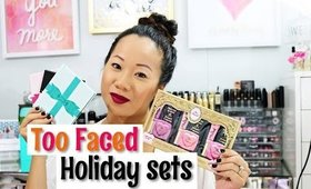 REVIEW Too FACED holiday Sets