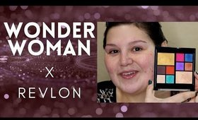GRWM: Revlon & Wonder Woman 84 Palette Try On #WW84