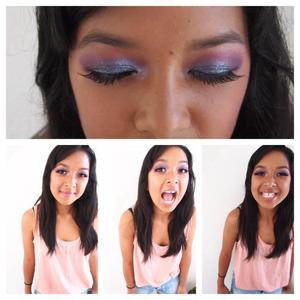 some fun makeup on my beautiful cousin