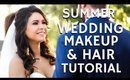 Summer Bridal Wedding Makeup & Hair Full Glam Tutorial | mathias4makeup