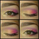 Sunset Inspired Eye Look