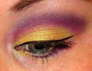 Purple and Gold 'Lafayette' inspired