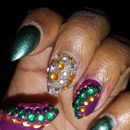 Blinged Out Nails