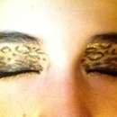 cheetah eye shadow