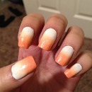 Peaches & Cream Ombre