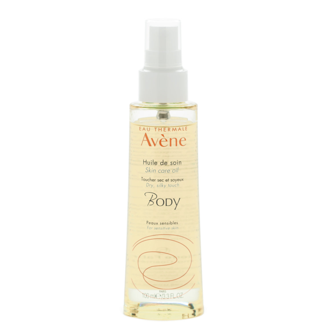 Eau Thermale Avène Skin Care Oil product smear.