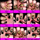 Step by Step Animal Print Nails