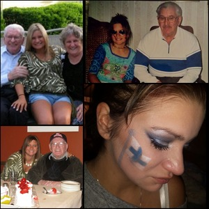 My grandfather is such an amazing man and through these hard times I haven't been able to handle everything so I did the one thing I know how to do, to help me get through this, in his honour and that's makeup. He will always be be with me I'm so proud to call him Pappa.