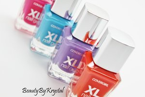 Get a fabulously bold manicure for a full week with these new Covergirl XL Nail Gel polishes! http://www.beautybykrystal.com/2014/06/covergirl-xl-nail-gel-review-swatches.html