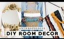 DIY ROOM DECOR! AFFORDABLE ANTHROPOLOGIE INSPIRED DECORATIONS 2018 | Nastazsa