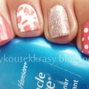Pretty in pink - Design by Cutepolish