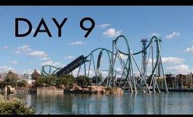 Orlando Florida Holiday Vacation day 9 Universal Studios Islands of Adventure