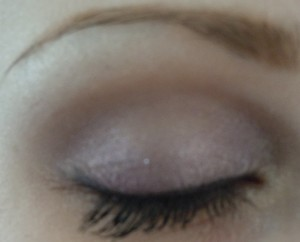 Look using Victoria Secrets sexy new year palette