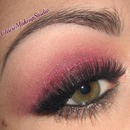 Cranberry Smoky Makeup Tutorial for Christmas