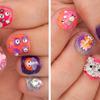 Glitter 3D Nails!
