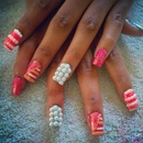 Pearly Microbead Nails