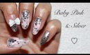 Baby Pink & Silver Nails (girly & edgy) & Bornprettystore.com Review