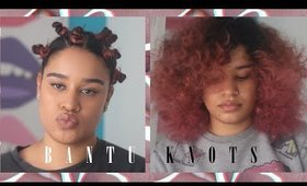 How to Get Big Hair with Bantu Knots