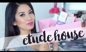 Etude House Pink Bird Unboxing #4 | 2016 SS Flower Lesson Swatch & Pink Vital Water Line
