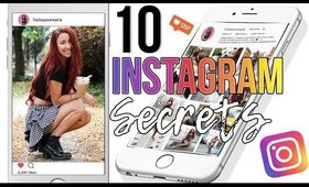 10 INSTAGRAM HACKS - Tips & Tricks | Lindsay Marie