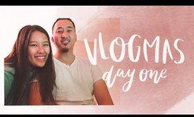 IT'S A VLOG! | VLOGMAS DAY 1