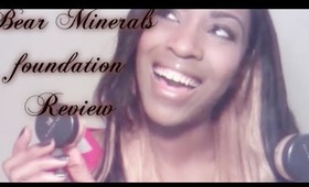 Bear Minerals foundation Review
