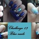Challenge : Blue Nails