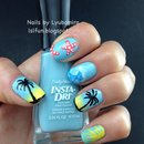 Sally Hansen Tropical Escape Iheartnailart