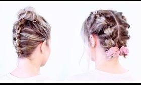 SUPER CUTE UPDOS FOR SHORT HAIR | Milabu