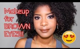 Clubbing Makeup for Brown Eyes
