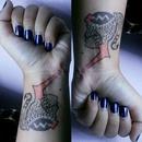 some mani some tattoo