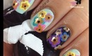 Spring Flower Nails by The Crafty Ninja