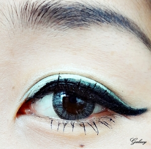 this eye make up look inspired by dita ,i really love her ,because she teach women how to be yourself,and proud who you are .