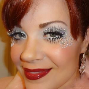 For more info on this look, please visit:  http://www.vanityandvodka.com/2013/10/halloween-makeup-fun-pixie-dust.html  xoxo, Colleen