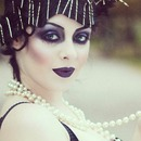 1920's Dark Great Gatsby Inspired look