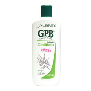 Aubrey Organics GPB Glycogen Protein Balancing Conditioner - Rosemary Peppermint
