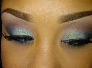 I used Glamour Doll Eyeshadows in this look. jayne & chocoholic