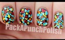 Tiny Dotted Floral Nail Art Tutorial
