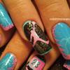 Miami Air Jordan Nail Art